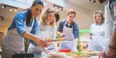 Küchenparty unter Freunden